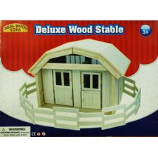 Deluxe Wood Stable Set