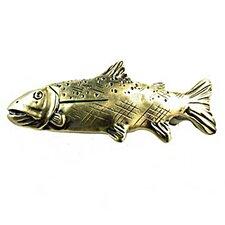 """Fishing Sportsman 1.75"""" Novelty Knob"""