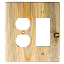 <strong>Sierra Lifestyles</strong> Traditional Duplex / Decora Switch Plate