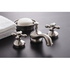 <strong>Strom Plumbing by Sign of the Crab</strong> Sacramento Widespread Bathroom Faucet with Pop-Up Drain