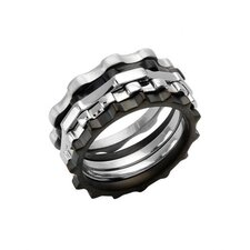 Bk-Up By Baraka Stainless Steel Ring