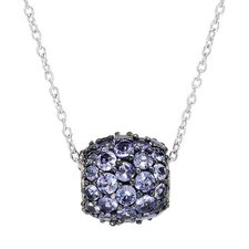 925 Sterling Silver Tanzanite Necklace