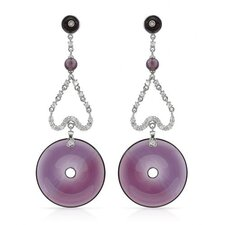 <strong>Vivid Gemz</strong> P And P Round Cut Cubic Zirconia Drop Earring