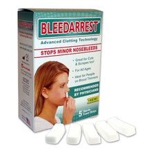 BleedArrest Nosebleed Clotting Foam Strip (Set of 5)