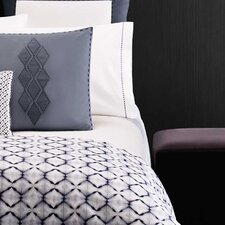 <strong>Vera Wang</strong> Shibori Diamond 300 Thread Count Sateen Sheet Set