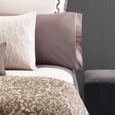 Damask 300 Thread Count Sateen Sheet Set
