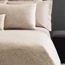Bamboo Leaves 300 Thread Count Sateen Sheet Set