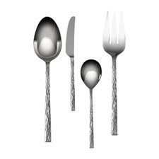 Hammered 4 Piece Hostess Set