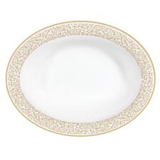 Vera Filigree Gold Open Vegetable Bowl