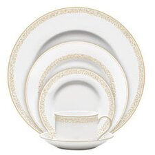 Vera Filigree Gold Dinnerware Collection