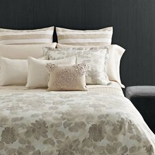 <strong>Vera Wang</strong> Etched Roses Cotton Duvet Cover Set