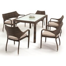 Verona 6 Piece Dining Set