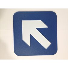 Arrow Diagonal Sign