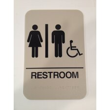 <strong>DON-JO MFG INC.</strong> Restroom Handicap Sign