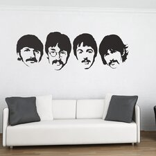 The Beatles Wall Stickers
