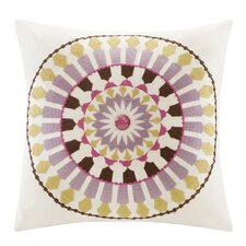 <strong>echo design</strong> Vineyard Paisley Cotton Faux Linen Pillow