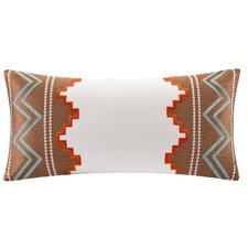 Beacon's Paisley Cotton Faux Linen Pillow
