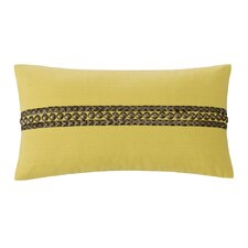 Abstract Palm Cotton Oblong Pillow