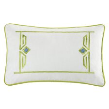 <strong>echo design</strong> Sardinia Cotton Oblong Pillow