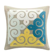 Scarf Paisley Square Pillow