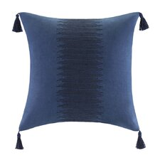 African Sun Cotton Faux Linen Decorative Pillow