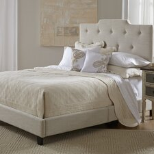 Stephanie Upholstered Panel Queen Bed Frame