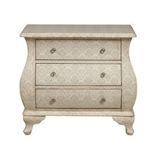 Accent Bombay 3 Drawer Chest