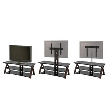 "Willow 3 in 1 Television Til /Swivel Universal Floor Stand/Wall Mount for up to 60"" LCD / Plasma"