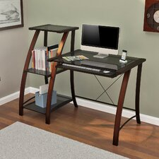Triana Computer Desk with Bookcase