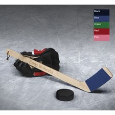 <strong>JDS Personalized Gifts</strong> Hat Trick Mini Hockey Stick