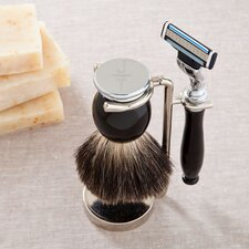 Personalized Gift Shave Kit with Vertical Text