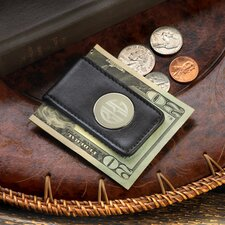 <strong>JDS Personalized Gifts</strong> Personalized Gift Leather Magnetic Money Clip Wallet