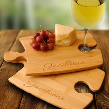 <strong>JDS Personalized Gifts</strong> Personalized Gift Bamboo Puzzle Cutting Board (Set of 2)