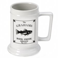 <strong>JDS Personalized Gifts</strong> Personalized Gift Cabin Series Stein