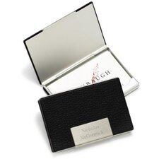 <strong>JDS Personalized Gifts</strong> Personalized Gift Leather Business Card Holder