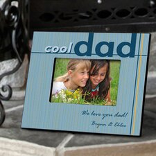 Personalized Gift Cool Dad Picture Frame