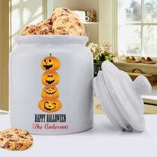 Personalized Gift Halloween Cookie Jar