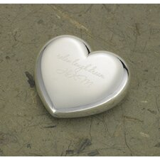 Personalized Gift Light-Hearted Love Heart Paper Weight