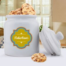 Personalized Gift Family Cookie Jar