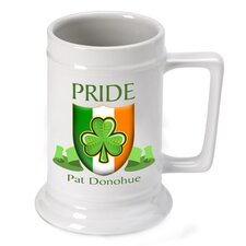 Personalized Gift Irish Pride Beer Stein Mug