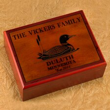 <strong>JDS Personalized Gifts</strong> Personalized Gift Cabin Series Humidor