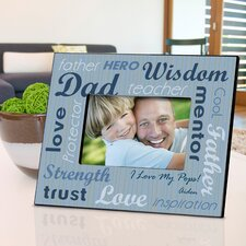 Personalized Gift All - Star Dad Picture Frame