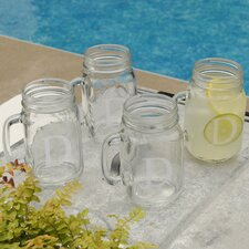 <strong>JDS Personalized Gifts</strong> Personalized Gift Classic Glass Jar (Set of 4)