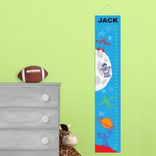 Personalized Gift Kids Canvas Height Chart