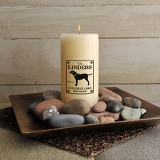 <strong>JDS Personalized Gifts</strong> Personalized Gift Cabin Series Flameless Candle