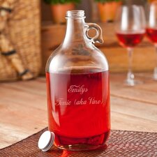 Personalized Gift Wine Jug