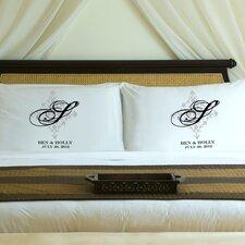 "Personalized Gift Couples ""Perfect Panache"" Pillowcase (Set of 2)"