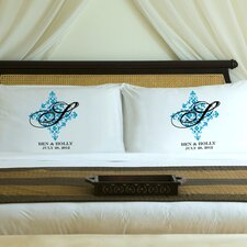 "Personalized Gift Couples ""Perfect Panache"" Pillowcase (Set of 2)"