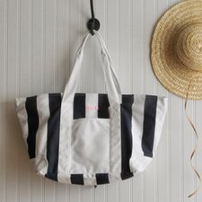 <strong>JDS Personalized Gifts</strong> Personalized Gift Candy Striped Beach Tote Bag