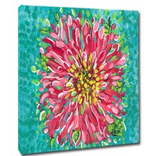 Blossom Mounted by Giclee Gerri Hyman Painting Print on Canvas
